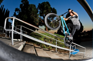 BMX Biker, Garrett Reynolds, Wearing Skinny Jeans While Riding